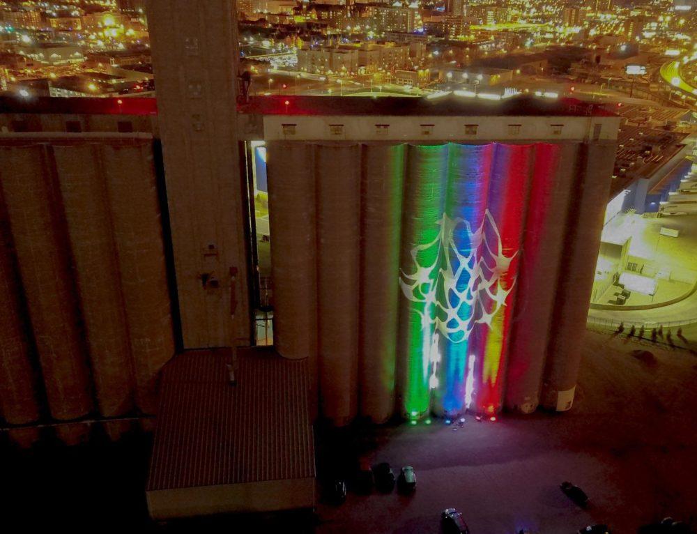 Huge Lighting Display Coming to Grain Elevators Near IKEA